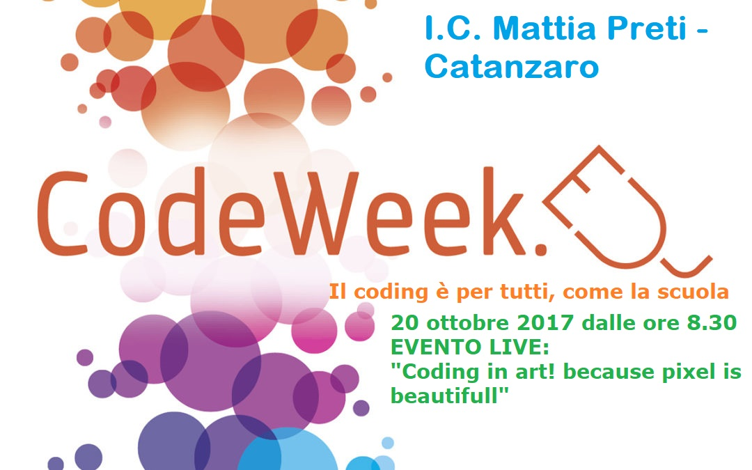 Europe Codeweek 2017- plesso Barone
